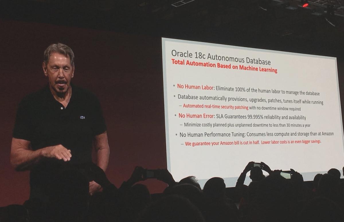 Database 18c : Oracle chasse l'erreur humaine et lesmenaces