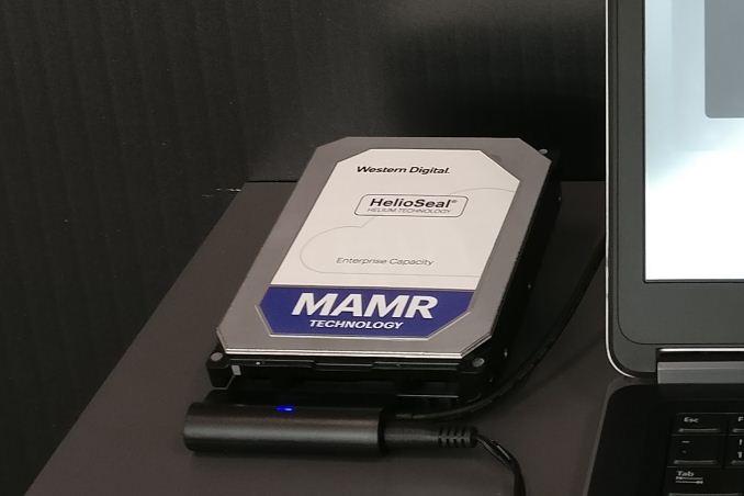 Avec MAMR, Western Digital vise des disques durs de 40To