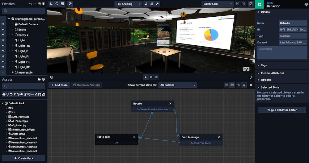 Avec Sumerian, AWS voit le futur en 3D, réalité virtuelle etaugmentée