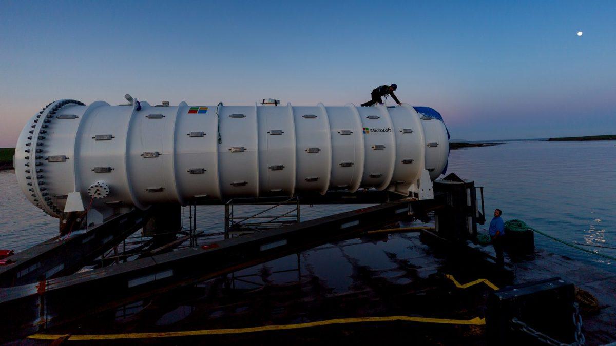 Microsoft plonge son datacenter submersible enEcosse